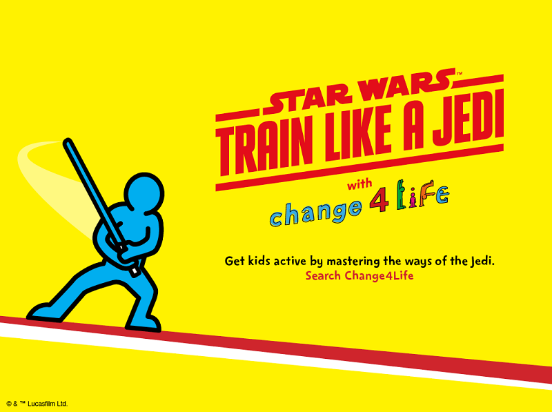 Train like a Jedi with Change4Life