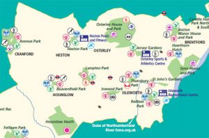 Get Active Outdoors in Hounslow map